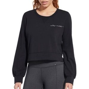 CALIA Carrie Underwood Effortless Black Pullover